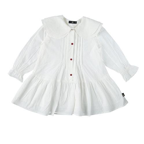 שמלת קיילי לבנה