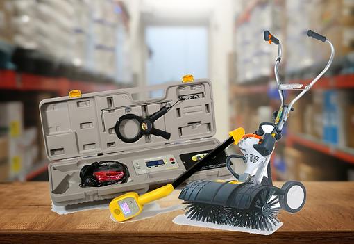 Rental equipment available at Aqua-Flo.