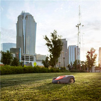 Automower grass mowing