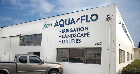 Aqua-Flo Supply Torrance store front location.