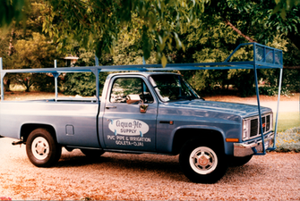 Vintage 1985 Flo Truck