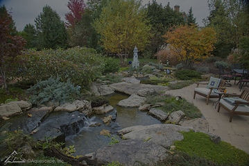 Water treatment and clarifiers for outdoor water features