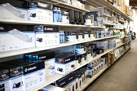 Large inventory stocked with product