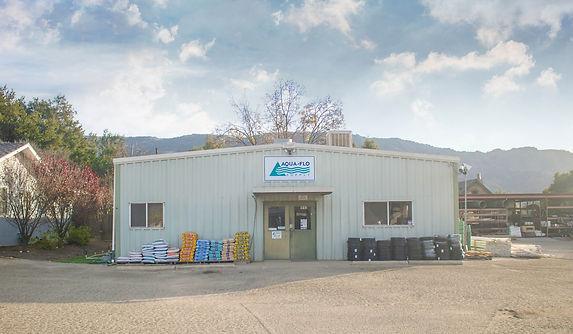 Aqua-Flo Supply Ojai store front location.