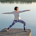 yogawithClare Warrior 2 Virabhadrasana 2
