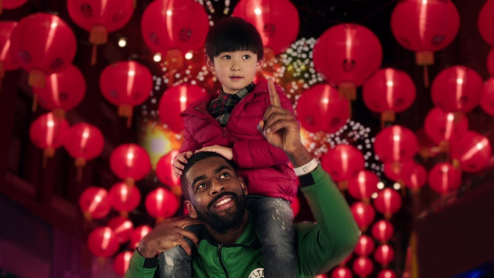 "NBA CHINESE NEW YEAR ""FIREWORKS"""