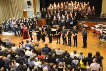 Carmina Burana Soloists and Musicians curtain call
