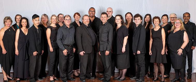RCV Choir Publicity photo with Gerber.jp
