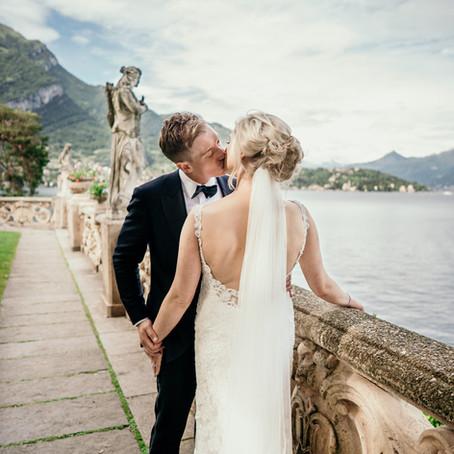 Rebecca & Daniel Wedding Day (Villa del Balbianello, Lake Como, Italy)