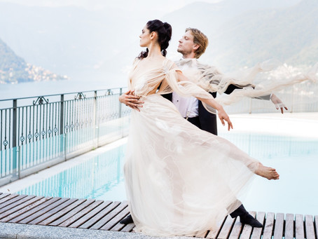 Akos & Greta (fine art photo session at Lake Como, Italy)