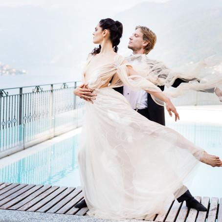Akos & Greta (fine art photo session at Lake Como, Italy)