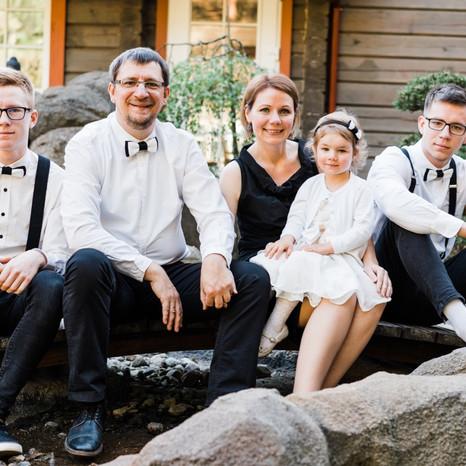 Šeimos fotosesija pas Rapolą