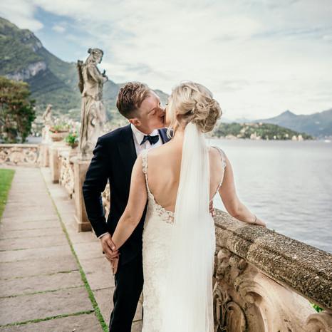 Daniel & Rebecca vestuvių šventė (Villa del Balbianello)