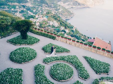 Ruta & Dmitry Wedding Day in Amalfi (Maiori, Minori and Amalfi, Italy)