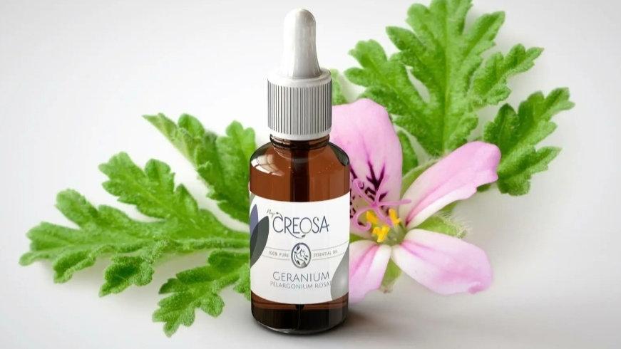 By creosa Geranium essentiële olie