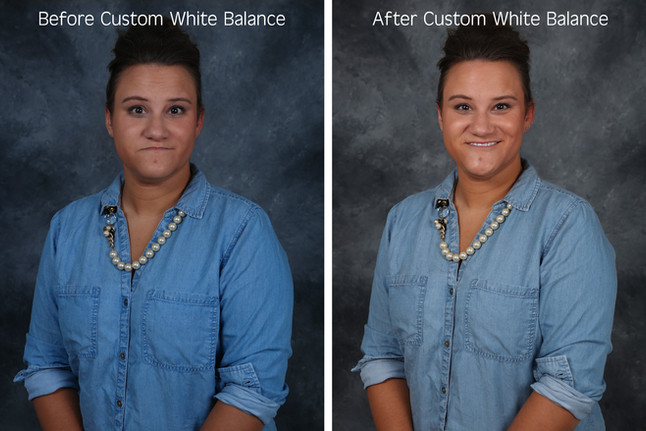 How To Set Custom White Balance