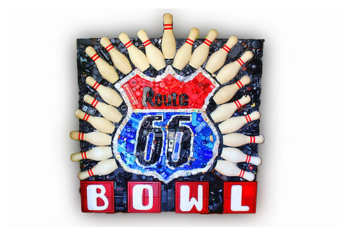 Route 66 Bowl SOLD