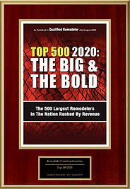 Qualified Remodeler Top 500 Big & Bold 2