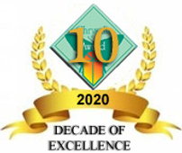 Chrysalis Award Logo 2020-Decade of Exce
