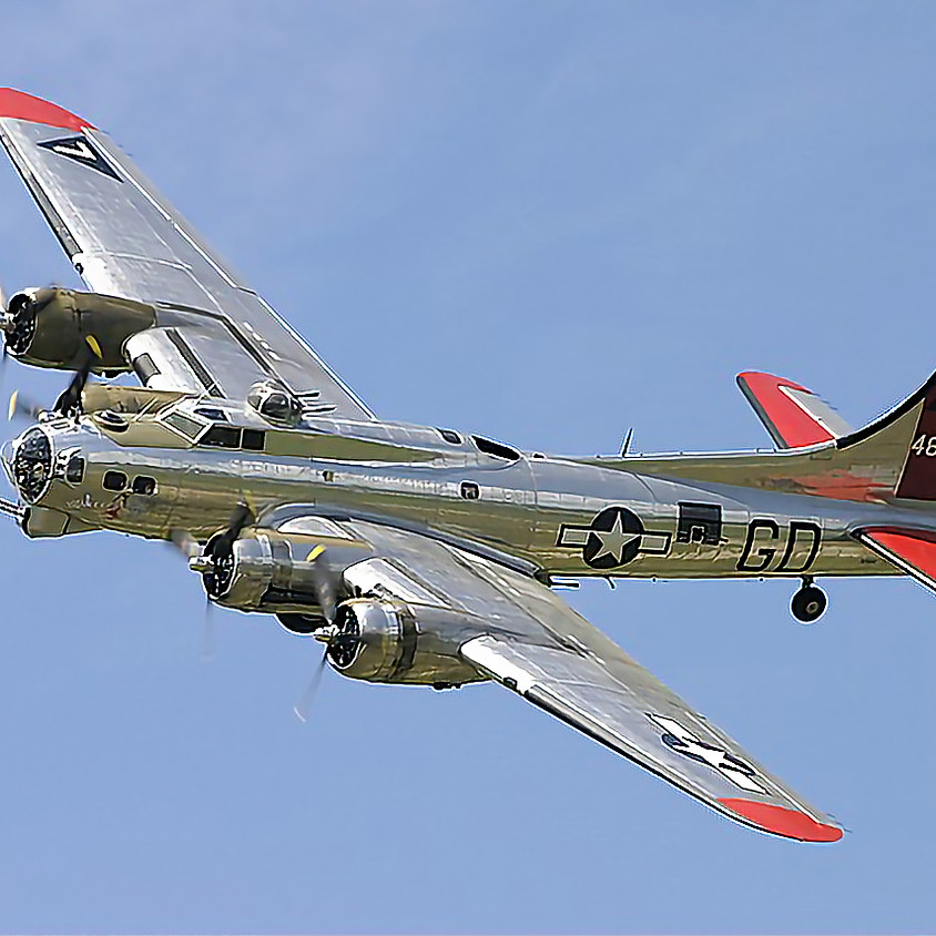 The B-17 Yankee Lady is coming to town!