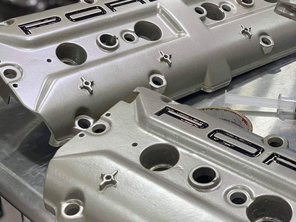 928 valve covers, reconditioned and read