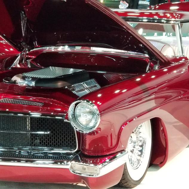 "Detroit Autorama - Great 8, Chris Ryan's ""Scarlet Lady"""