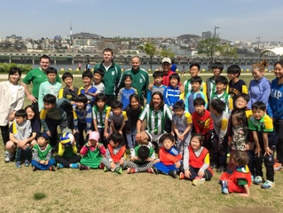 Seoul Gaels Kids team paving the way in 2015.