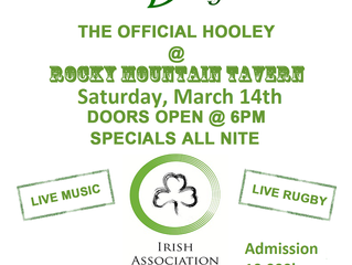 IAK 2015 St. Patrick's Day Hooley Fundraiser