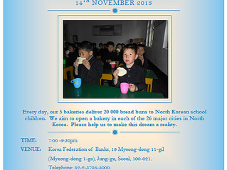 SUPPORTER EVENING FOR THE LOVE NORTH KOREAN CHILDREN CHARITY