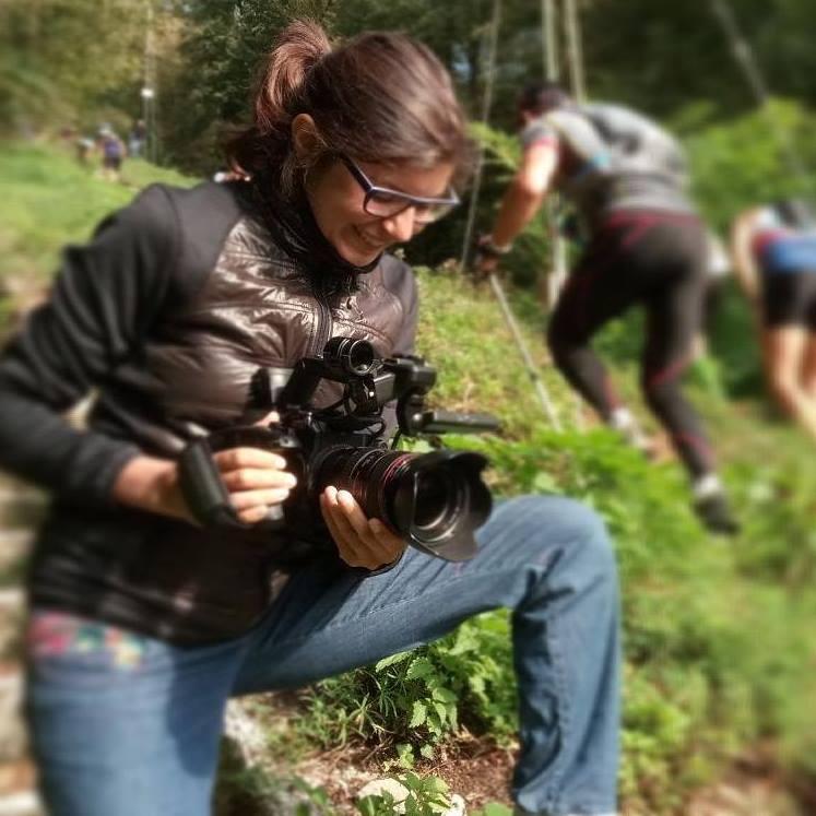Filming Campo dei Fiori Trail 17
