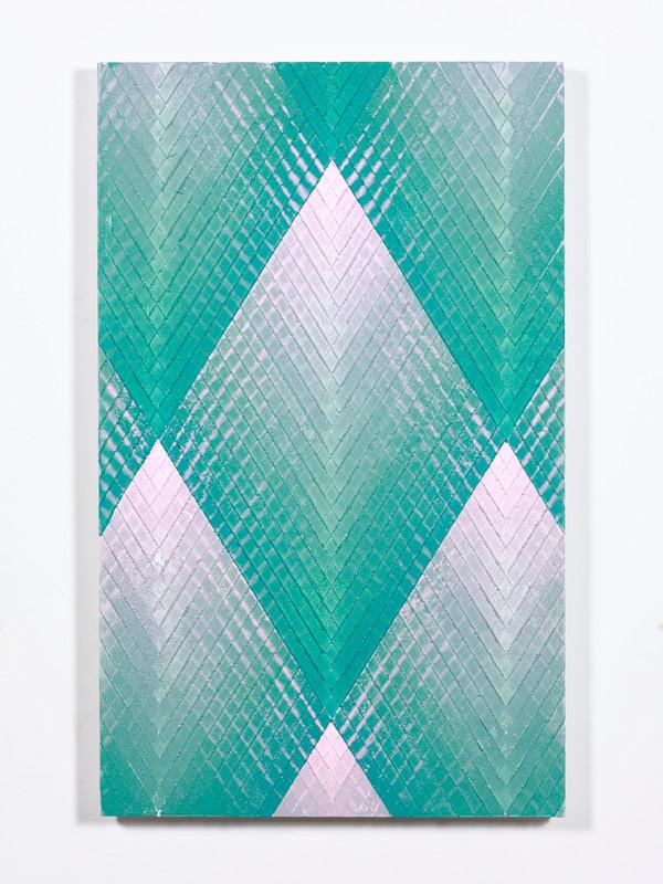 Lino Study.  2019.  Lino monoprint.  Ink on plywood.  56x35cm