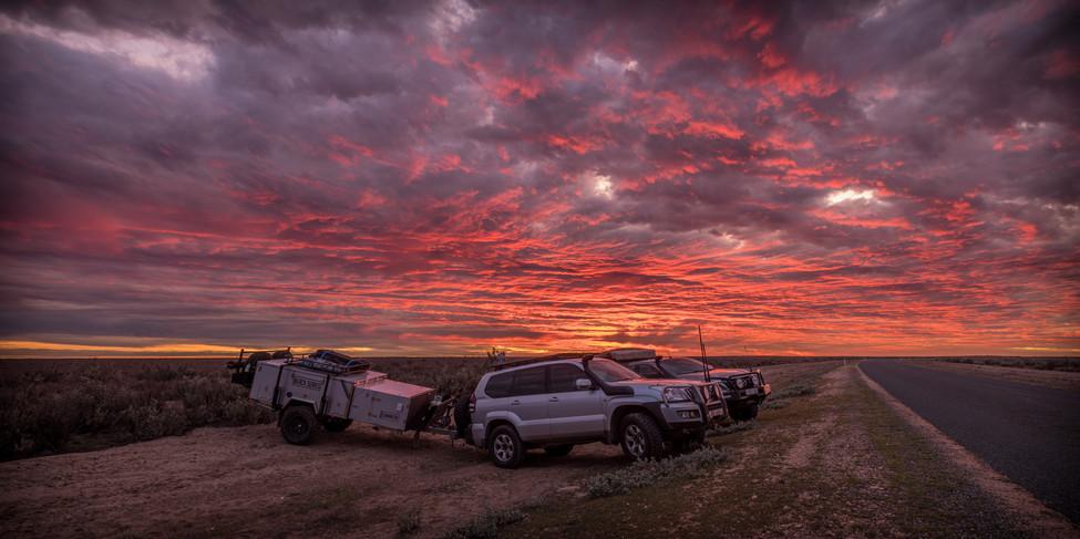 Mungo sunset