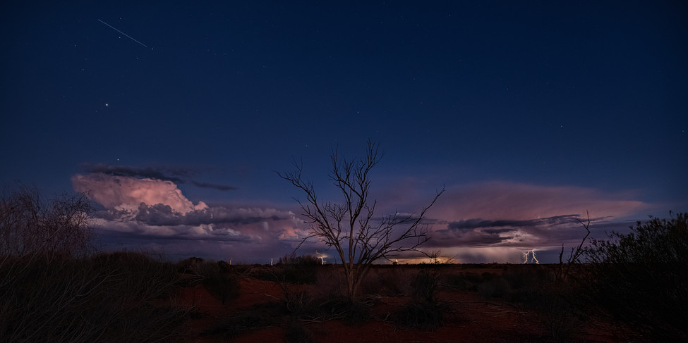 strzelecki desert storm