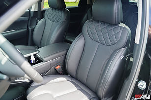 Palisade aftermarket leather roadwire interior