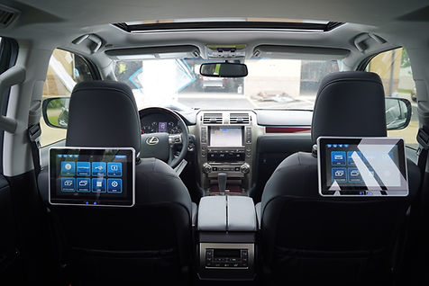 "Voxx 10"" smart dvd lexus"