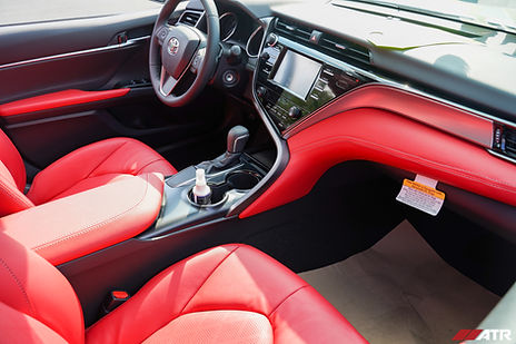 camry se with red leather aftermarket