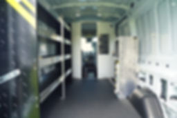 RangerDesign Ford Van midroof interior