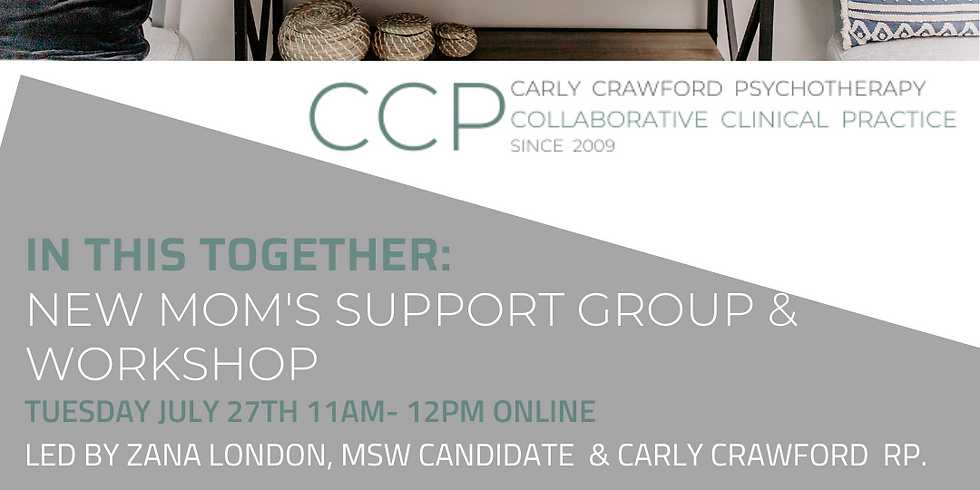 In This Together: New Mom's Support & Workshop