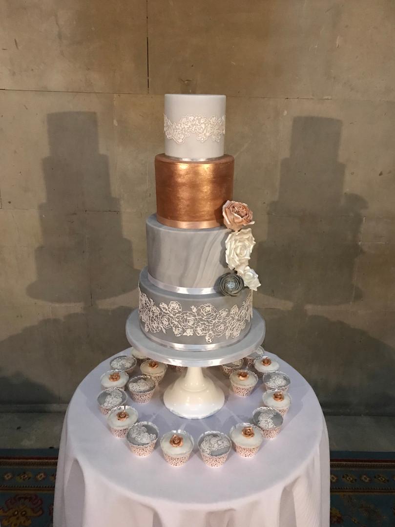 Ashridge House couture iced cake