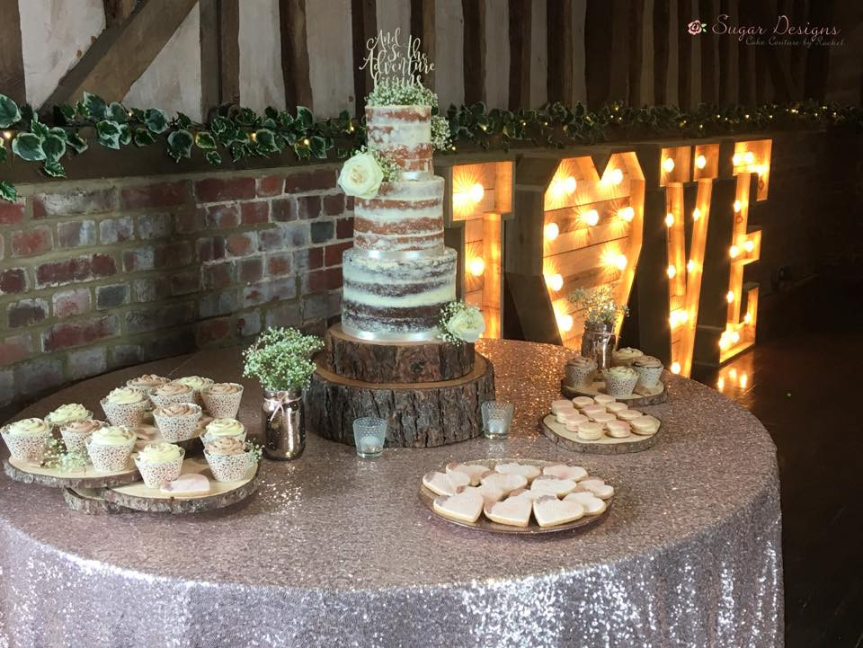 Dessert table at Lillibrooke Manor