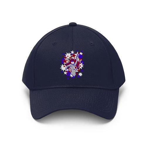 Kettlebell hero Unisex Twill Hat