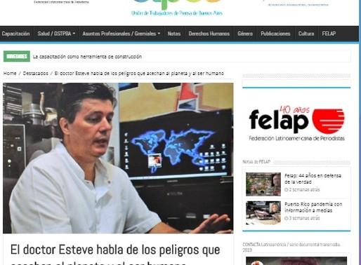 Peligros que acechan al planeta y al ser humano 🌱 Federación Latinoamericana de Periodistas FELAP