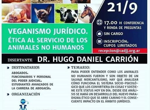 Derecho Animal por Dr. Hugo Carrión 🍃