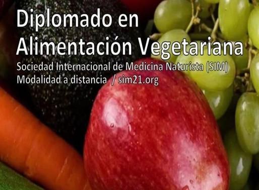Diplomado en Alimentación Vegetariana 🍃🍎