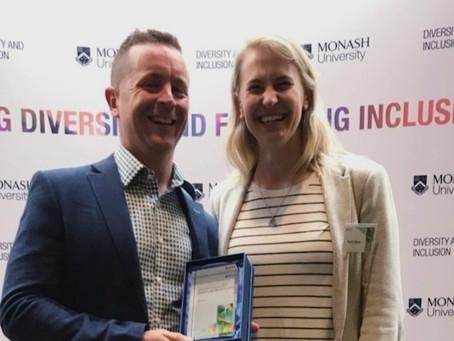 Researcher Receives Vice Chancellor Award
