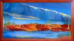 Morning Glory, Red Banks, Albert River, Burketown