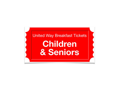 Child or Senior Ticket
