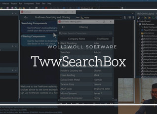 FirePower X - TwwSearchBox using FireMonkey