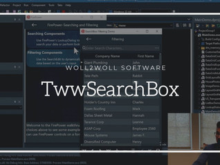 FirePower X - TwwSearchBox using FireMonkey