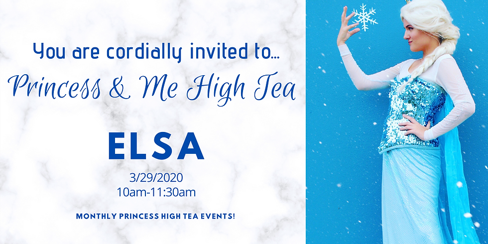 Princess & Me High Tea